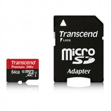 Transcend 64GB microSD Card