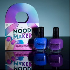 Mood Maker Colour Changing Nail Polish - Purple