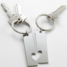 Couple's Key Chain