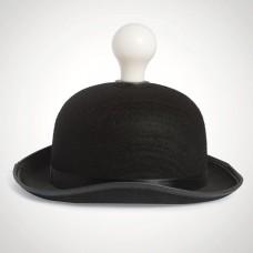 HEADED BOWLER HAT LIGHT
