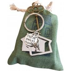 New Home Keychain Gift