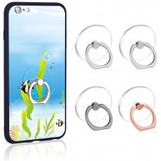 Transparent Cell Phone Ring Holder