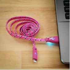 GLOWING BRAIDED CABLES IOS