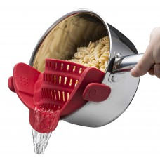 Clip-On Strain Strainer