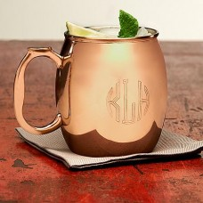Copper Mule Mug - Monogram