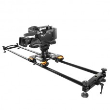 Camera slider manual model with connectable tracks