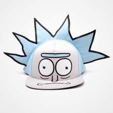 MORTY RICK HAIR SNAPBACK CAP