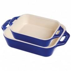 Staub 2pc Rectangular Baking Dish Set (Basil)