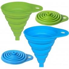 Folding Funnel for Liquid Transfer