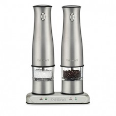 Rechargeable Electric Salt and Pepper Mill Set