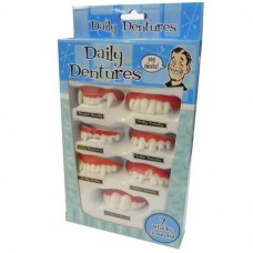 DAILY DENTURES FUNNY TEETH SET