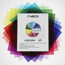 "Rosco CalColor Kit 12"" x 12"" Filter Gels, 33 Sheets"
