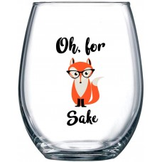 Stemless Funny Glass