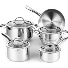 Classic Stainless Steel Cookware Set
