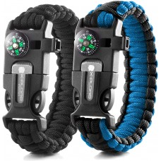 Emergency Paracord Bracelets