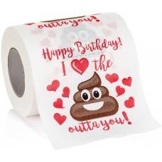 Happy Birthday Novelty Toilet Paper