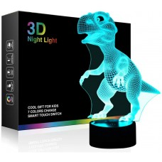 3D Night Light Touch Activated Desk Lamp