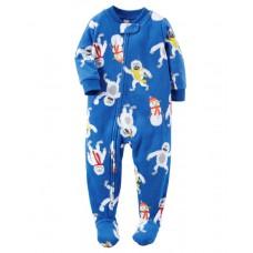 1-Piece Fleece PJs